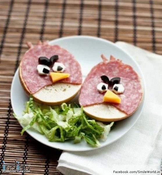 Creative Food Ideas. Repin by Ellesilk.com