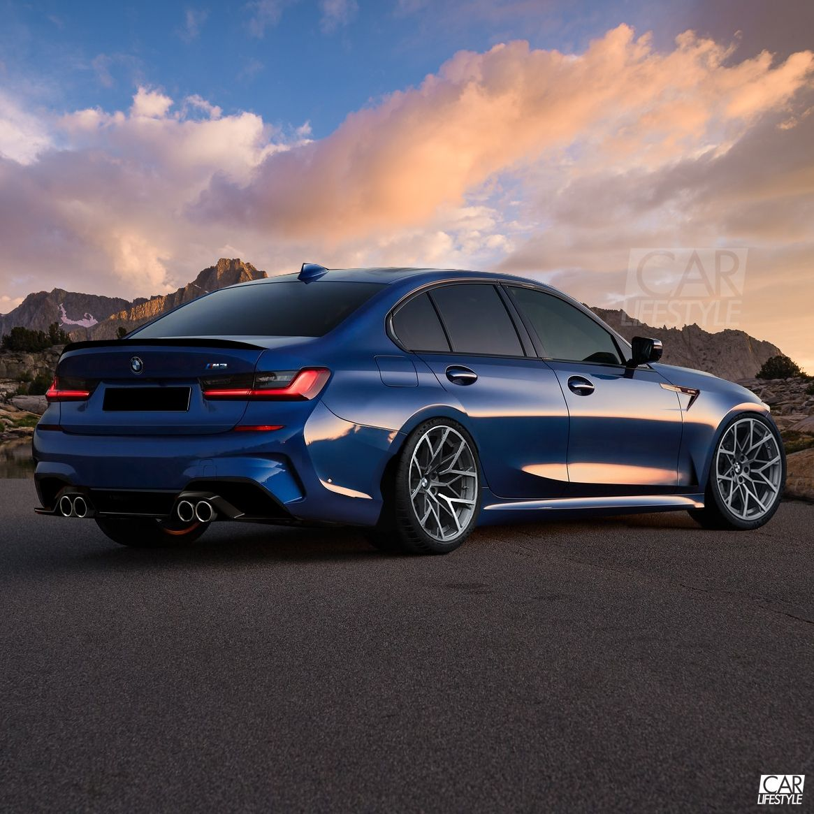 2020 Bmw G80 M3 Render With Images Bmw M3 Bmw Price Bmw