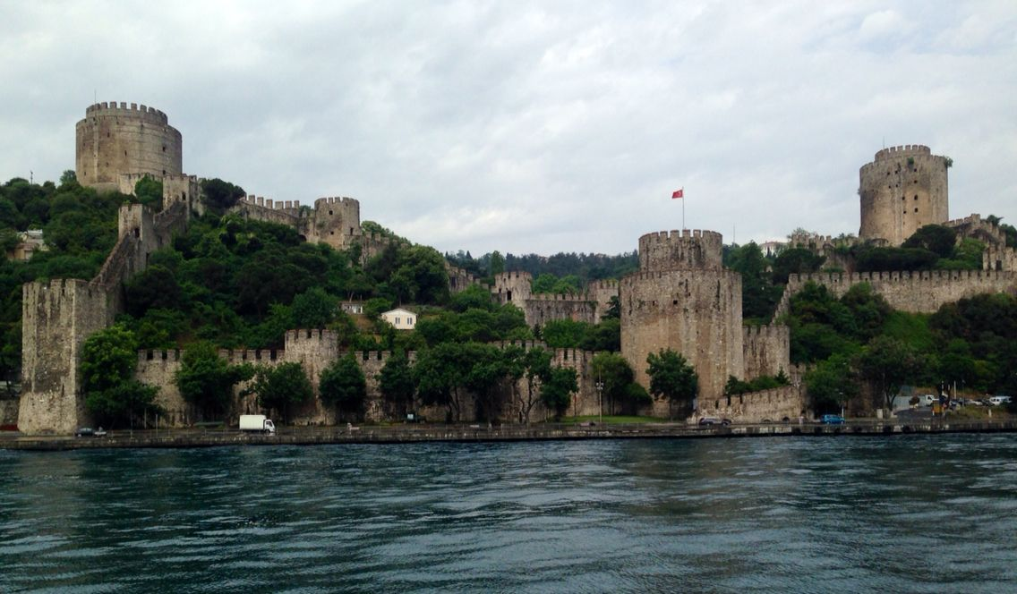 Views from a #BosphorusCruise, #Istanbul, #Turkey,  #AncientCivilizationsAdventure, May 2014
