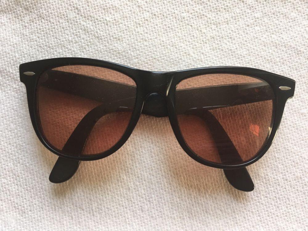 d7f84af76 AUTHENTIC Vintage B&L Ray Ban Wayfarer II Sunglasses Made In USA | eBay