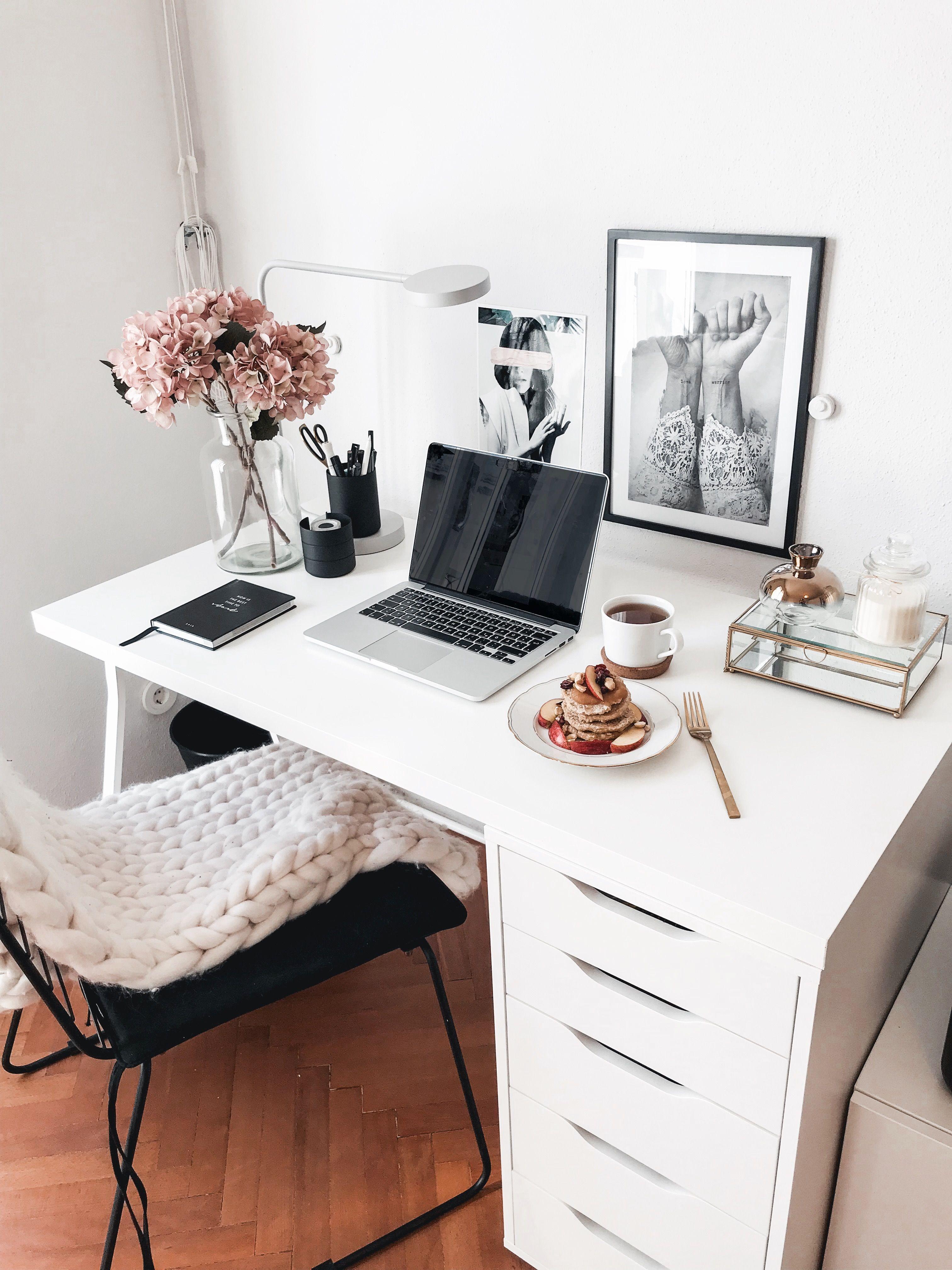 Home Office   theresacatira.com   Desk inspiration, Desk inspo ...