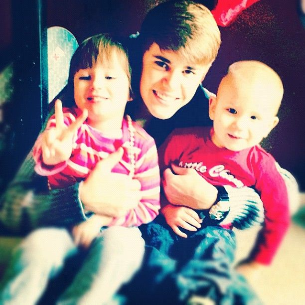 VIDEOS: Justin Bieber goes segway with Jazzy and Jaxon teaches drumming. I love him