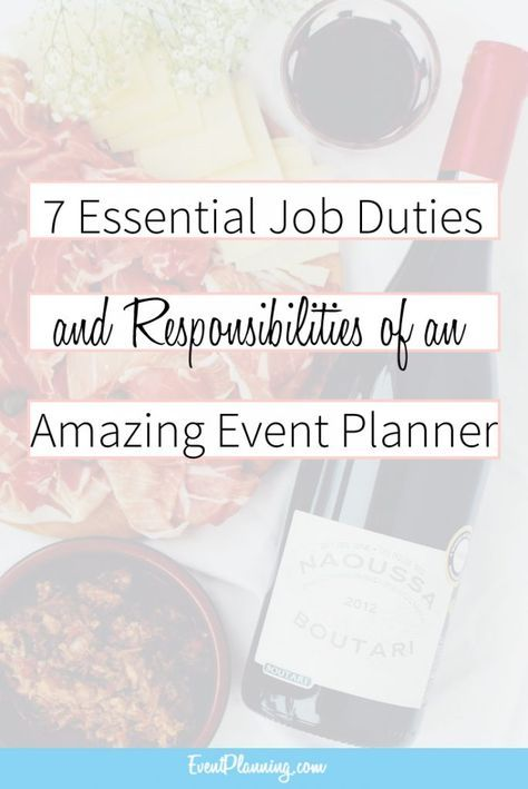 Event Planning Job Description and Responsibilities Planners and - event planner job description