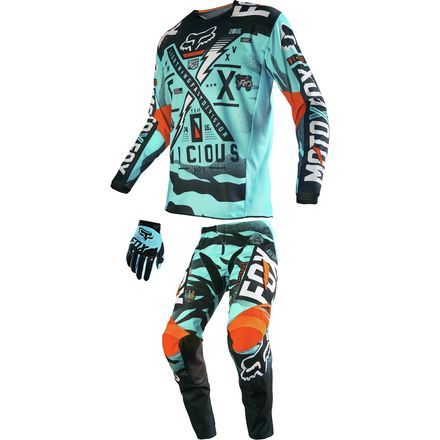 Dirt Bike Fox Racing 2016 Peewee 180 Combo Vicious Dirt Bike Gear Racing Gear Motocross Gear