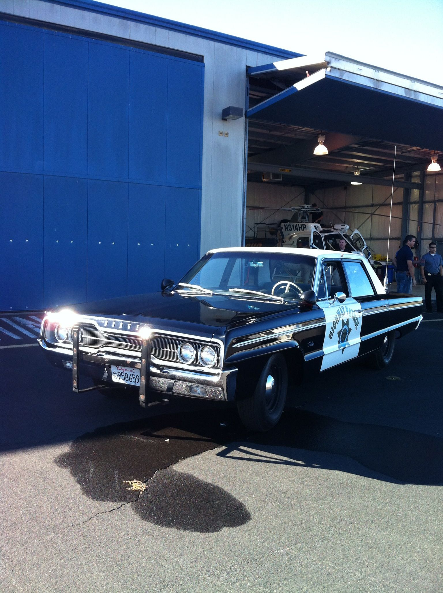 1966 Dodge Polara police car   Vintage Police Vehicles   Old