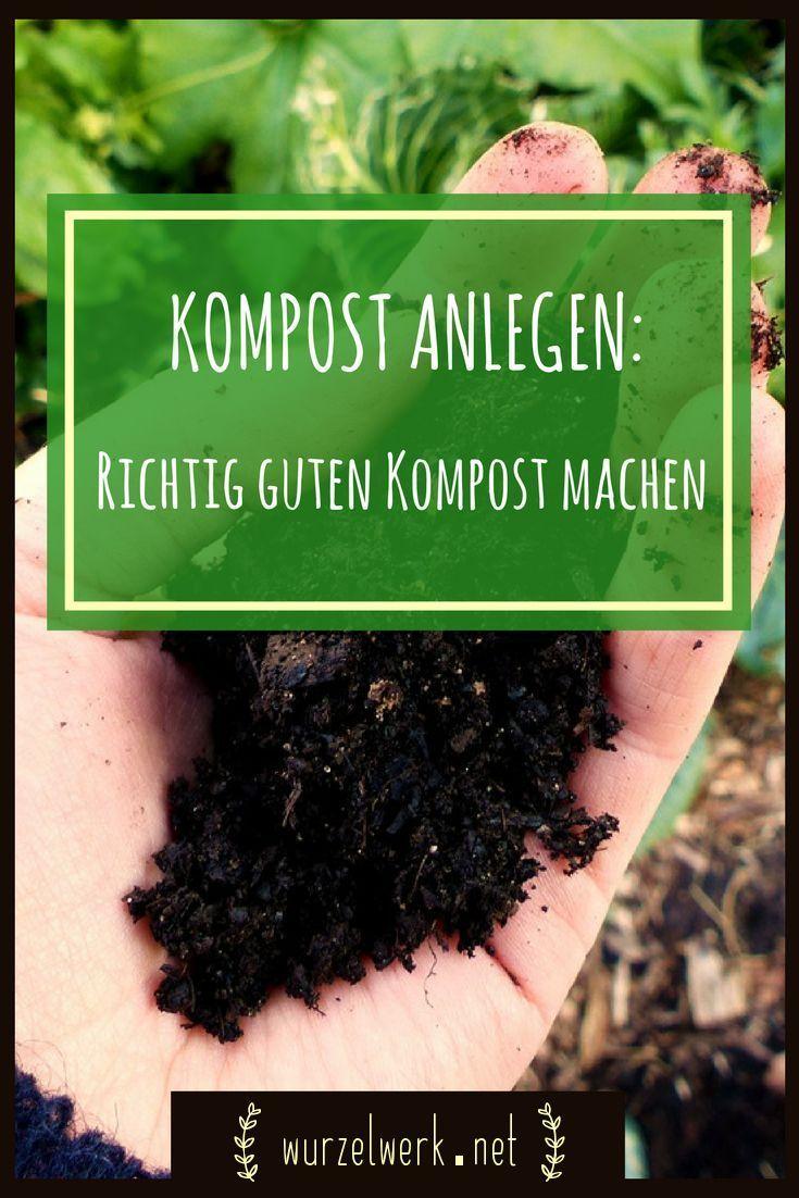 einen richtig guten kompost anlegen - so klappt's! | gartentipps