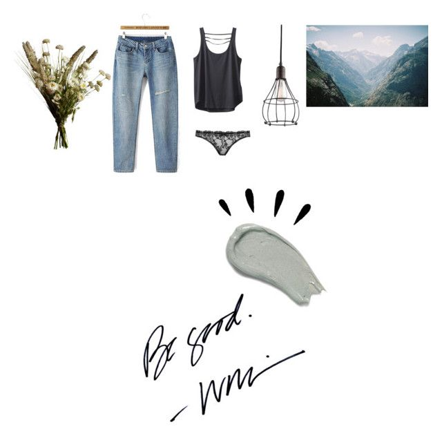 """be a good one"" by amsbullock on Polyvore featuring Omorovicza, Kichler, Kavu, Old Navy, Abigail Ahern and Agent Provocateur"