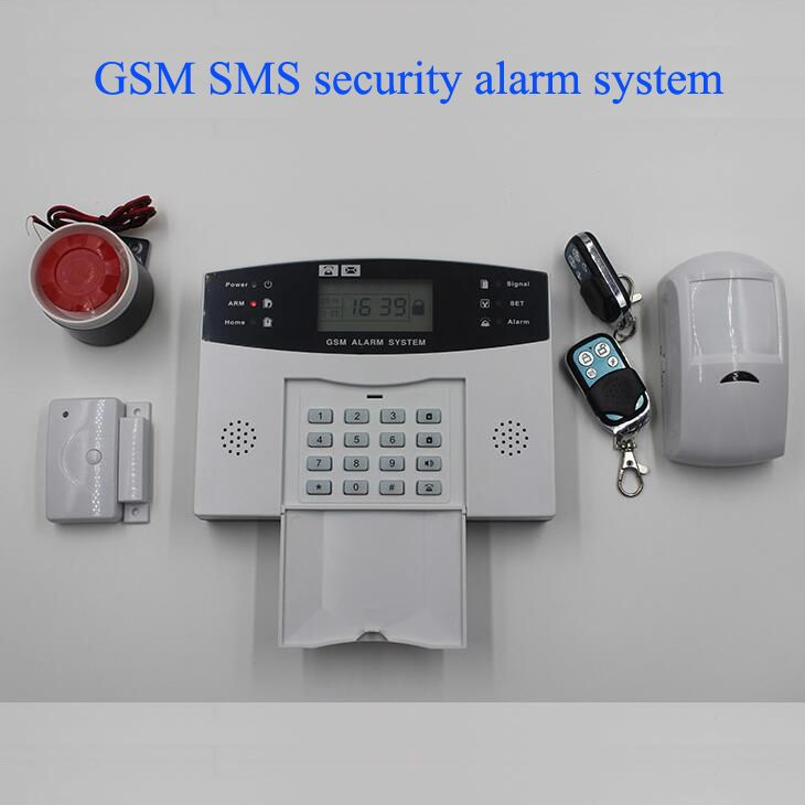 Cheap Good Quality Gsm Alarm System With Lcd Display Lithium Battery Classic Home Security Alarm Sys Home Security Alarm System Security Alarm Gsm Alarm System
