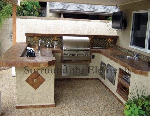 Outdoor Kitchen Plans U Shaped Pic 1 Of Choosing The Best Style For Your E