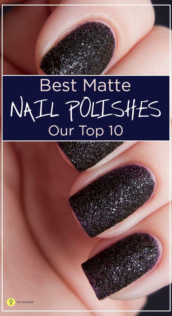 Top 10 Matte Nail Polish - AccessoryWiz