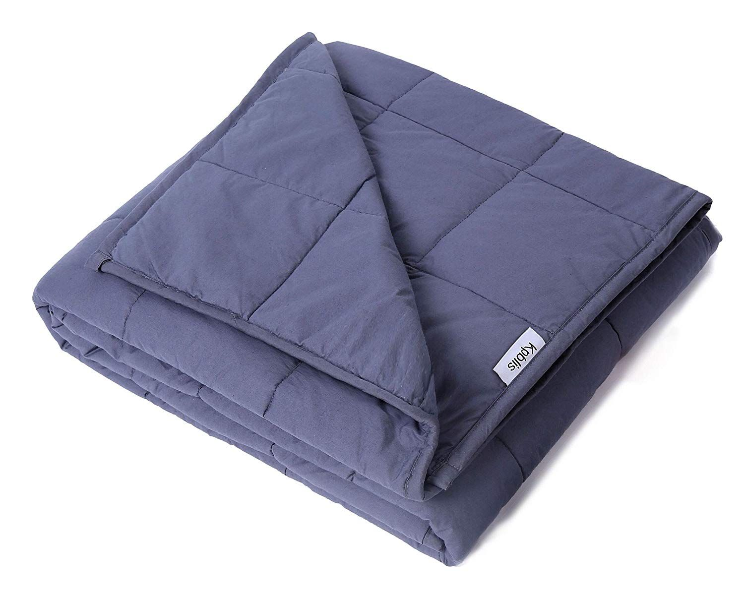 Amazon Com Kpblis Weighted Blanket 15 Lbs 60 X 80 100 Cotton