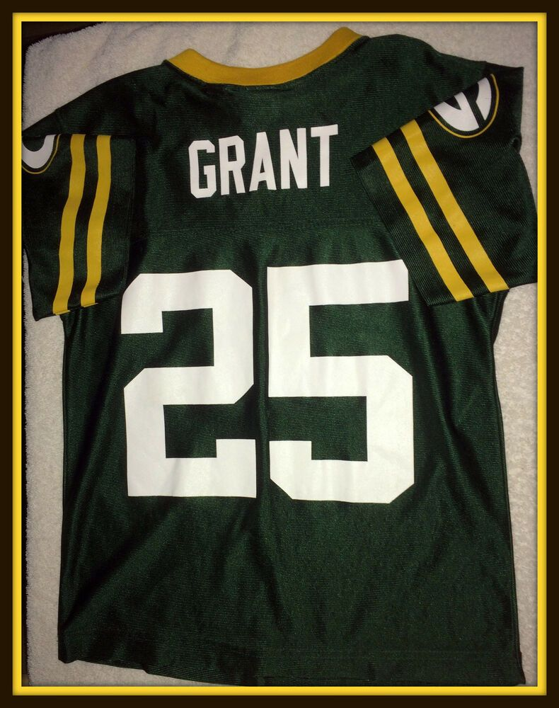 Green Bay Packers Ryan Grant Team Apparel Jersey Youth Size Small 8 Free Ship Reebok Greenbaypackers Team Apparel Green Bay Packers Green Bay