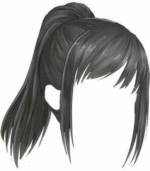 Estilo De Cabelo Da Yandere Chan In 2020 Anime Hair How To Draw Hair Manga Hair