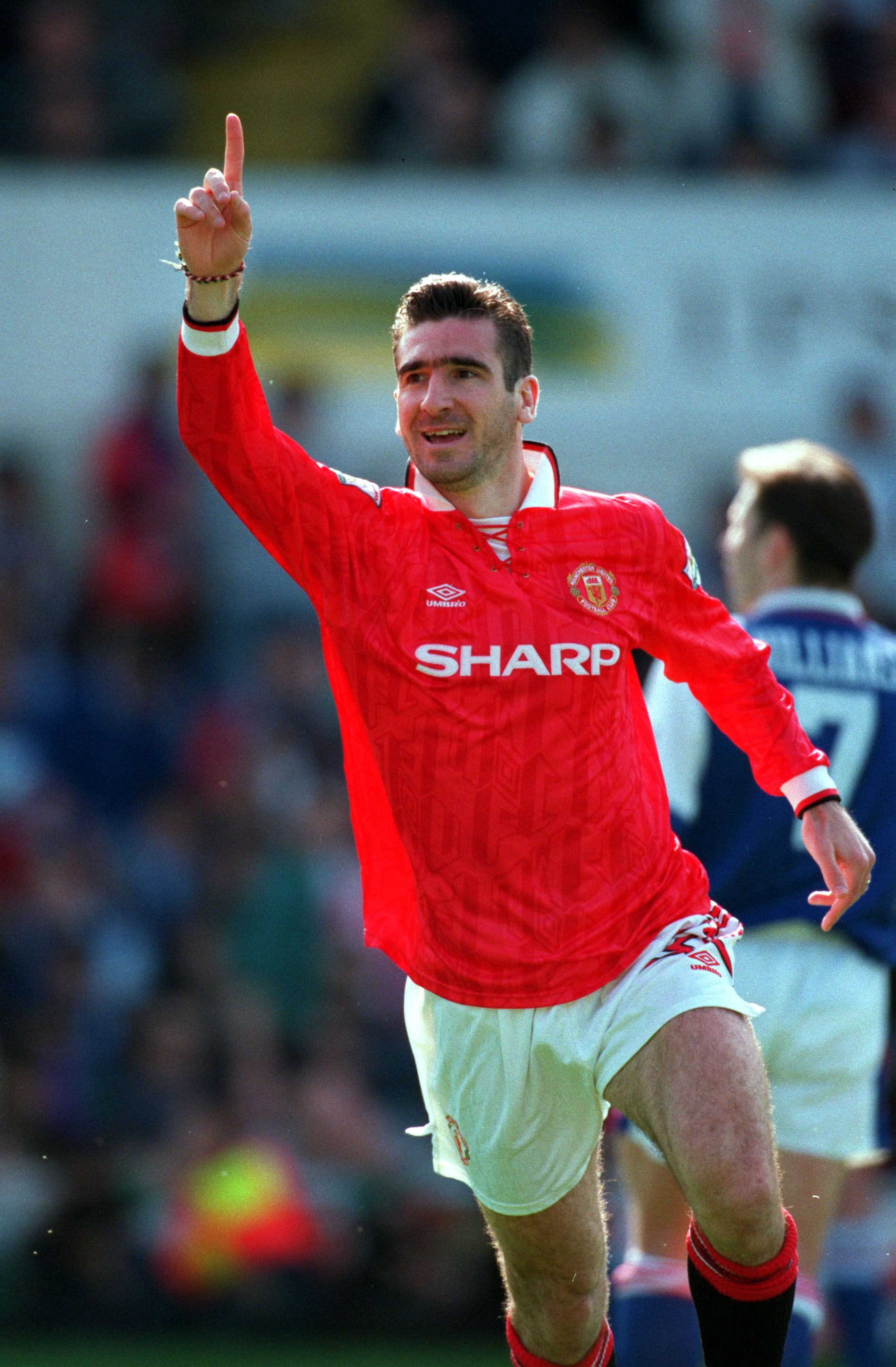 The man behind manchester united's revival as a footballing force. Eric Cantona. Simply the best. | Eric cantona, Manchester ...