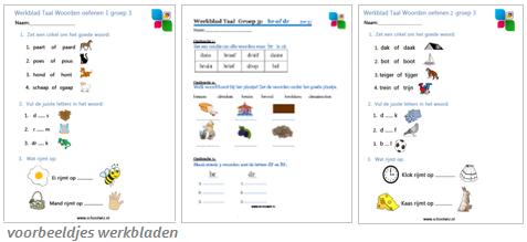 Hedendaags Schoolwiz - Taaloefeningen werkbladen voor groep 3 t/m 8 Spelling OC-09
