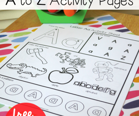 Alphabet Worksheets2 - FREE A to Z Activity Pages from This Reading ...