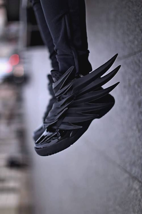 a94efea31e85 new hot model ADIDAS JEREMY SCOTT WINGS 3.0 DARK KNIGHT BATMAN ! US ...