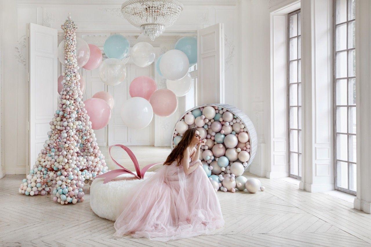 фотостудия с шариками можно