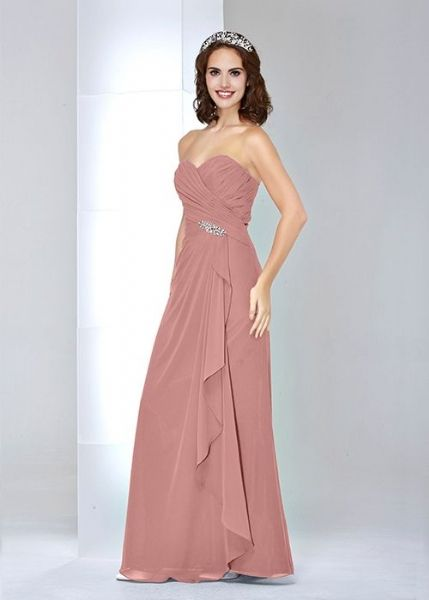 dusky pink bridesmaid dress - Google Search