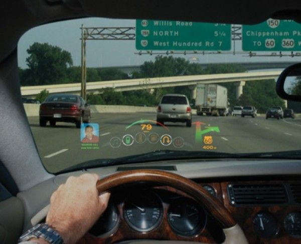 Laser Displays On Windshields Of Cars