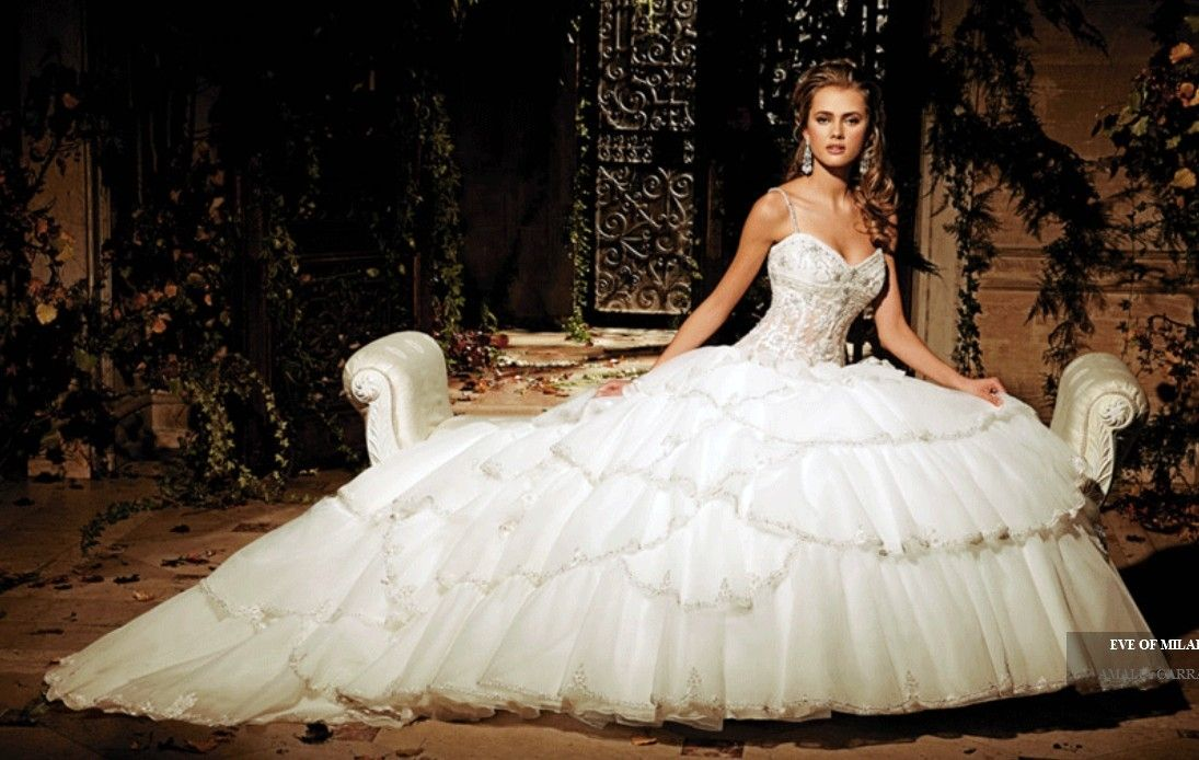 9 best ideas about wedding dresses on Pinterest | Eve of milady ...