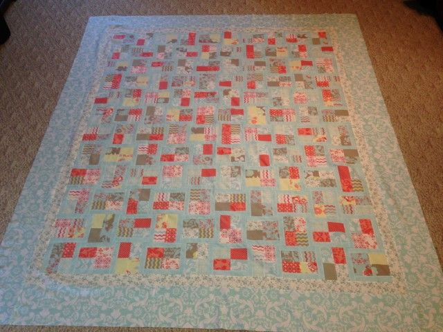 Quilt top finished, ready to put on frame, Kensington jelly roll ...