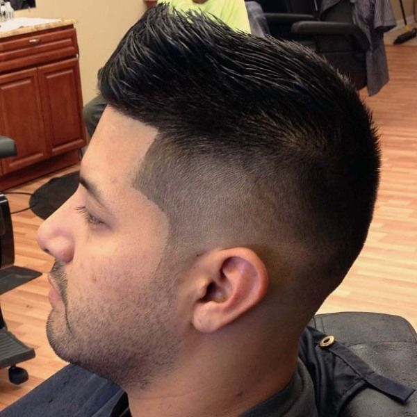 Faux Hawk Sides And Back Zero Fade Barbershops Faux Hawk