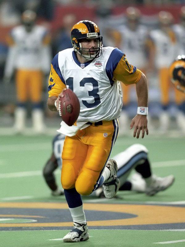Kurt Warner St Louis Rams Classic Rams Pinterest