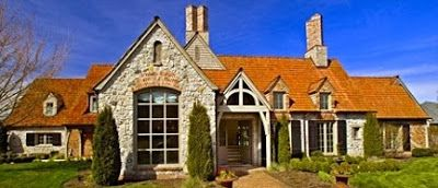 The French Tangerine: ~ my jack arnold home | gorgeous in