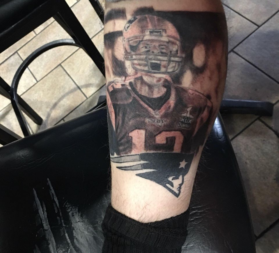 picture 40 New England Patriots Tattoo Designs For Men – NFL Ink Ideas
