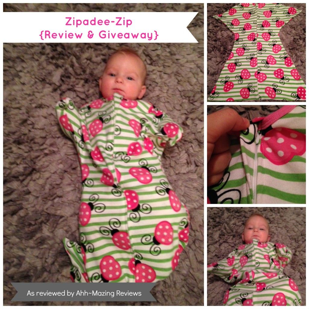 Zipadee-Zip is the perfect solution for the swaddle transition! Saw ...