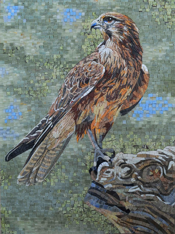 Mosaic Art – King of the Skies