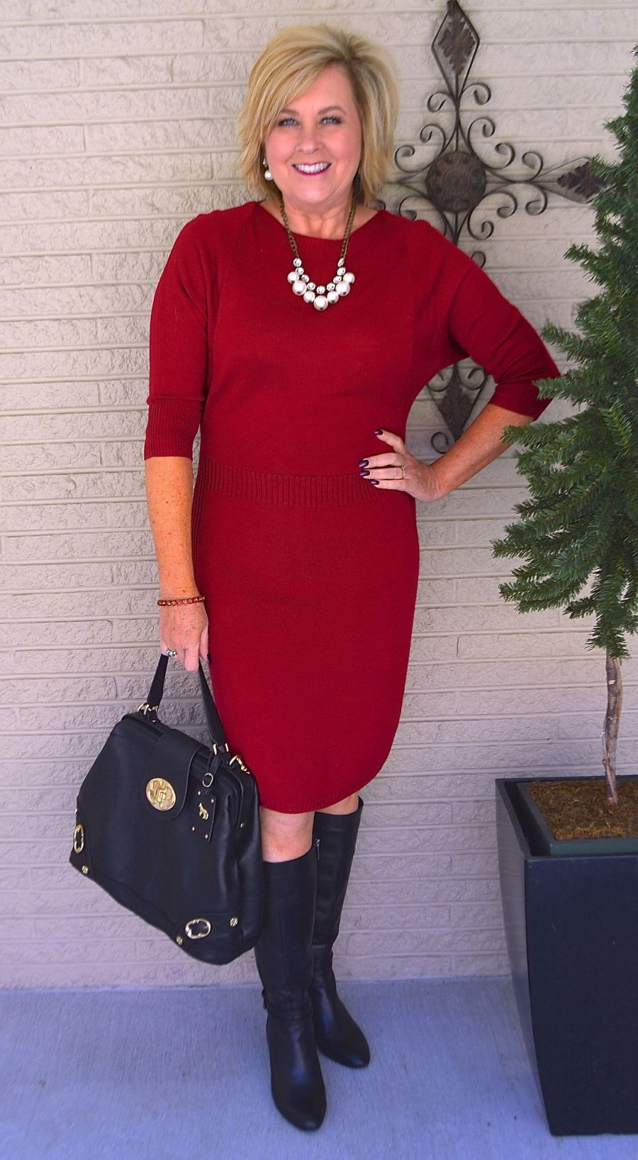 Lady In Red  Fashions Over 40, Spring  Summer Edition -9043