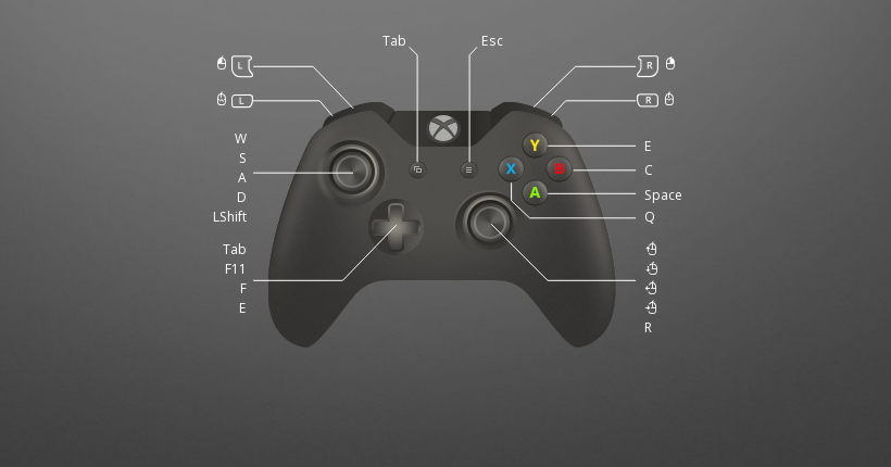 Subnautica controller support layout is ready-to-use
