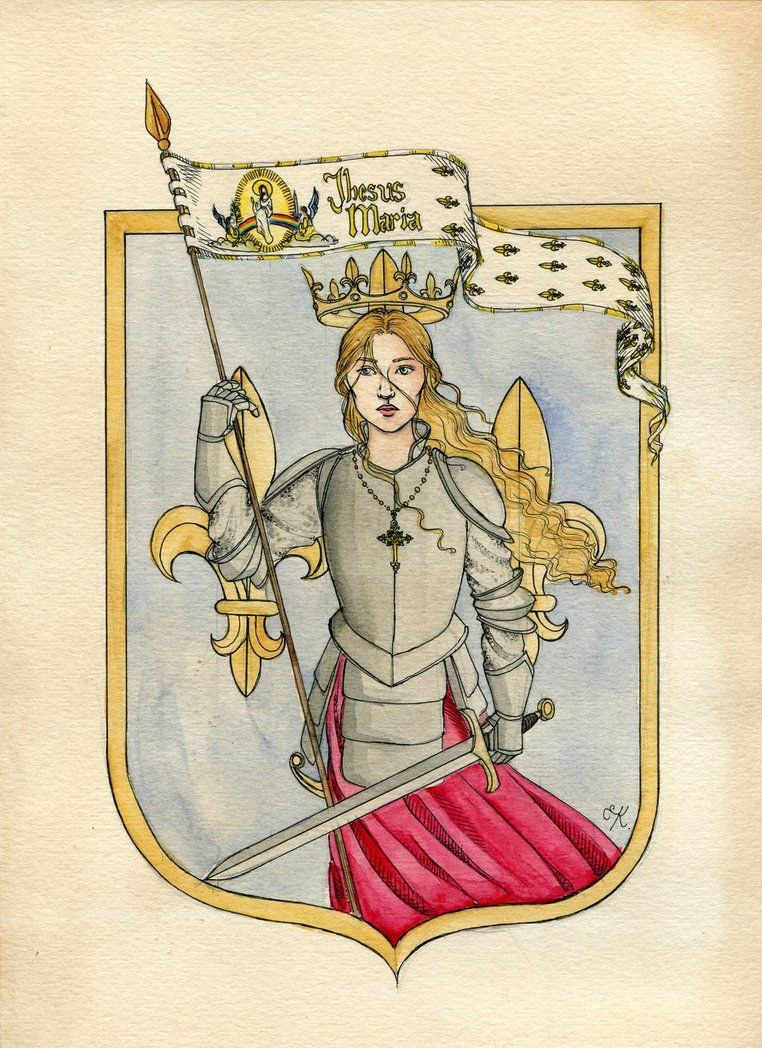 Joan of Arc by Kitty-Grimm on deviantART