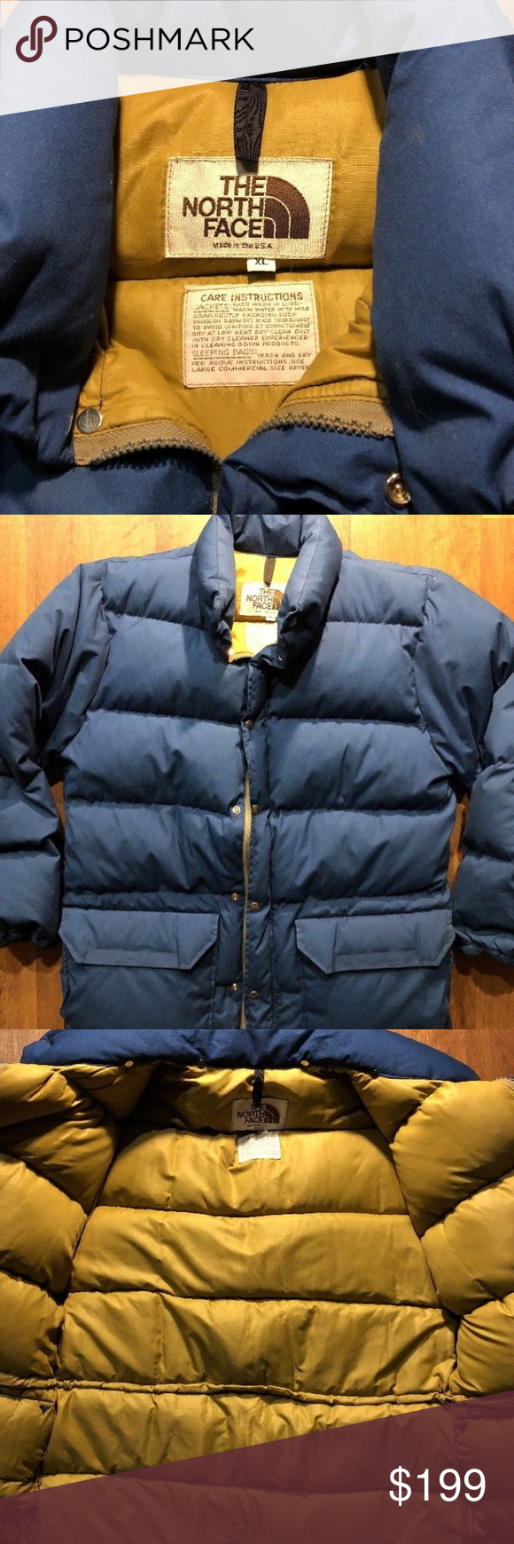 Vintage The North Face 70 Parka Coat Jacket Xl Vintage The North Face 70 Parka Coat Jacket Men S Size Xl Puffy Double Zip Ma Parka Coat Jackets Coats Jackets [ 1740 x 580 Pixel ]