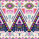 multicolor tribal Navajo vector seamless pattern. aztec fancy abstract geometric art print.