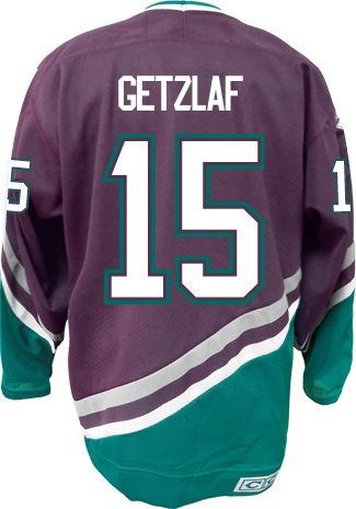 new arrival 04e6c 04172 Anaheim Mighty Ducks Ryan GETZLAF #15 *C* Official CCM ...
