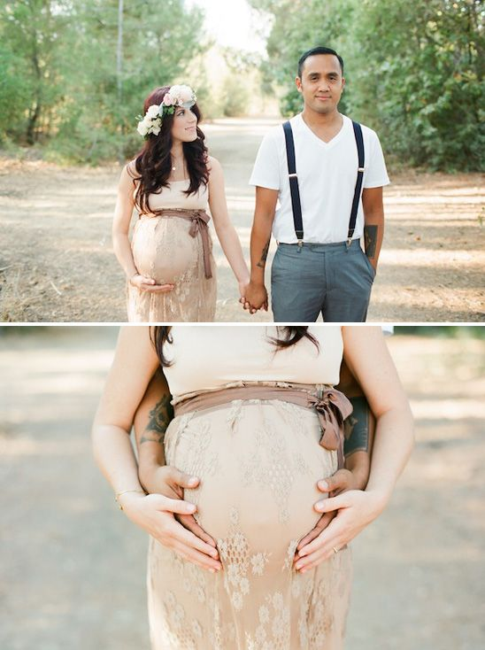 Romantic Fall Maternity Session