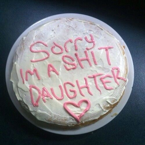 sorry not sorry afewofmyfavoritethings Pinterest Oc Cake