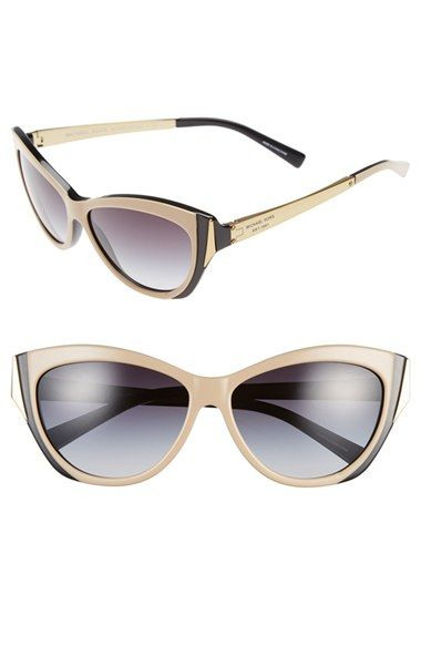 Women's Michael Kors Collection 'Caneel' 57mm Sunglasses - Taupe