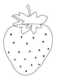 strawberry template | Strawberry Shortcake | Pinterest | Template ...