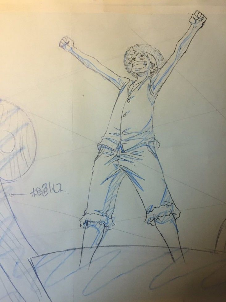 One Piece : Dessins sur shikishis par le character designer Masayuki SATO !