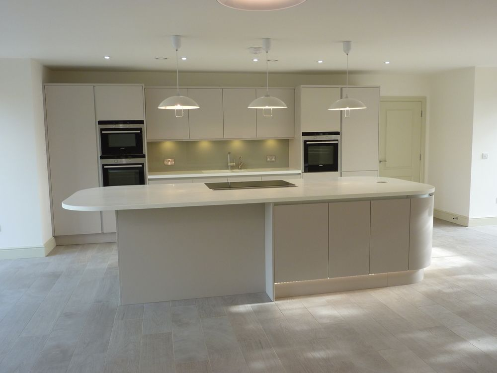 Living Room Bielefeld Handless Kitchen - Google Search | Southbank Kitchens