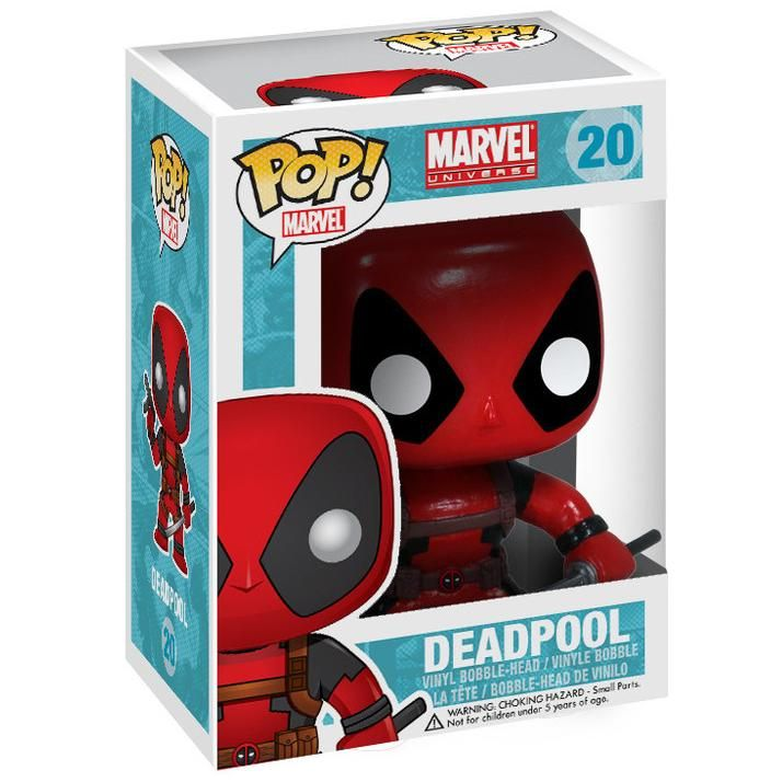 Deadpool Vinyl Bobble-Head 20 - Funko Pop! van Deadpool