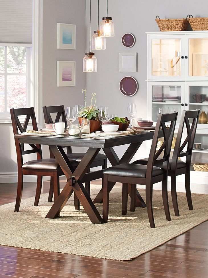 Julie Created This Upscale Dining Space With Dramatic Lighting Gorgeous Upscale Dining Room Furniture Design Inspiration