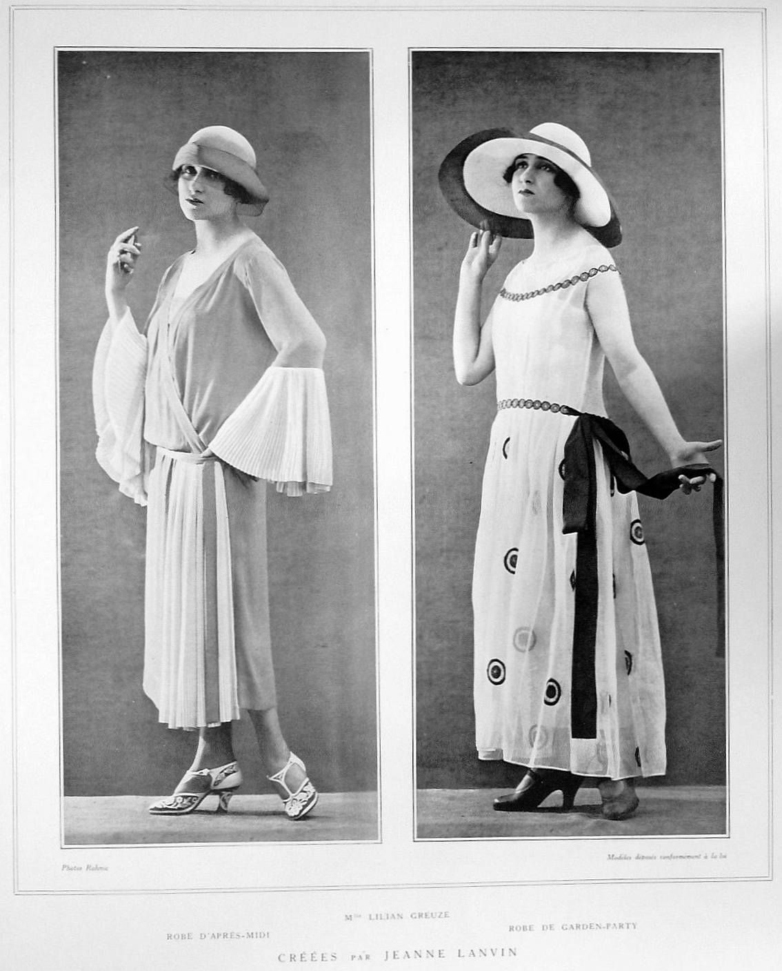 Sydneyflapper Afternoon Dress Jeanne Lanvin Womens Fashion Boho Chic [ 1407 x 1134 Pixel ]