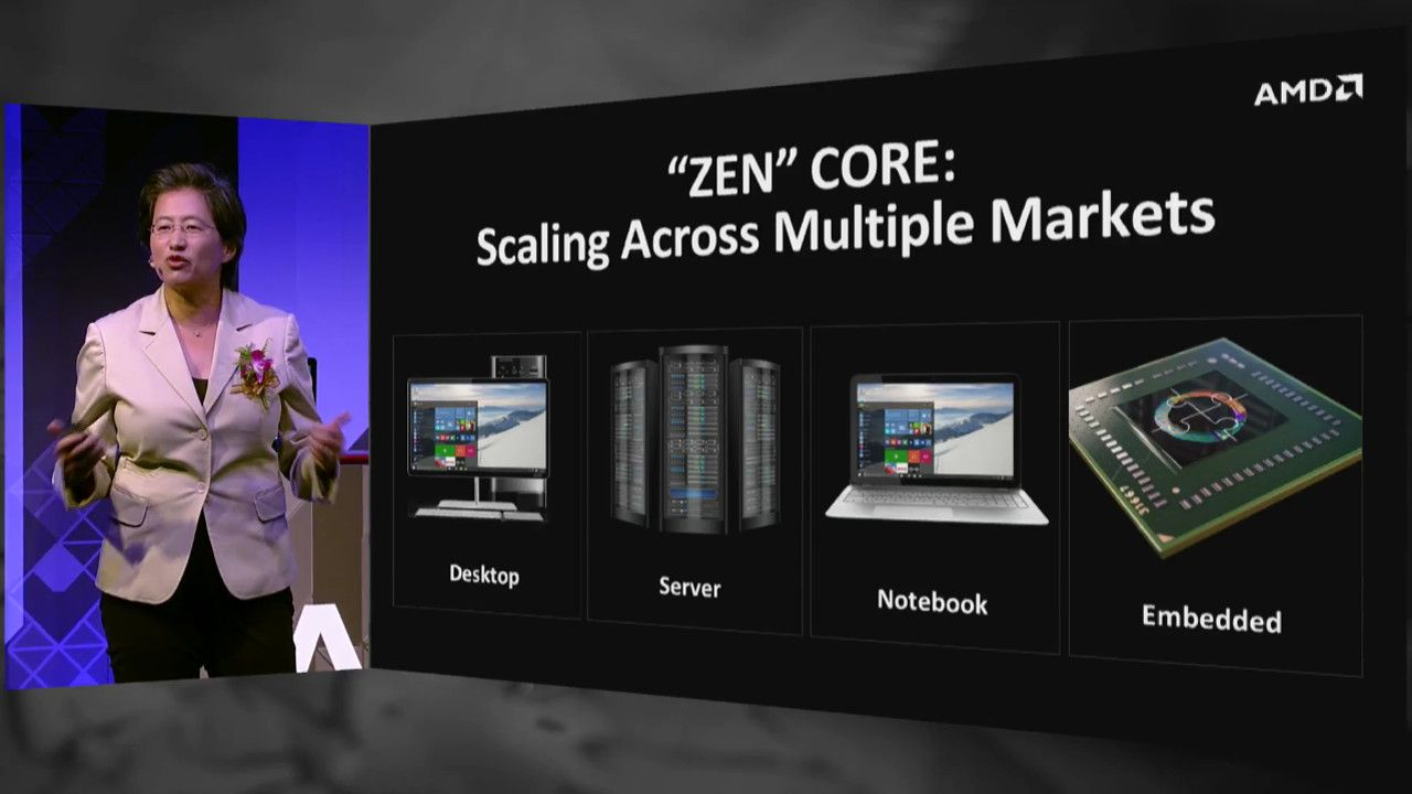 The Zen server chips will first reach highend gaming