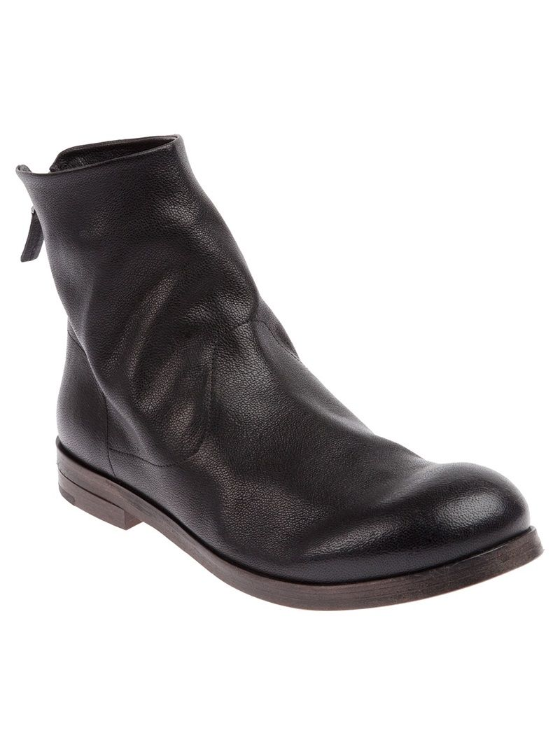 MARSELL zip fastening ankle boot