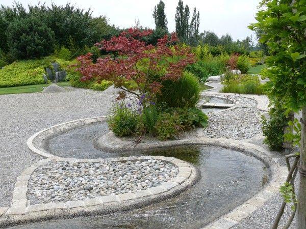 Wasserlauf Im Garten. die besten 25+ drainage garten ideen auf ...